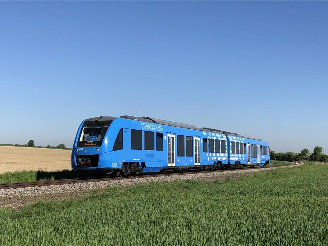 Le train à hydrogène Coradia iLint d'Alstom adopté par les Pays-Bas