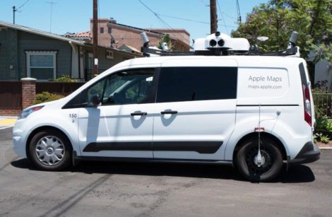 "Des camionnettes ""Apple Plans"" pour cartographier la France"