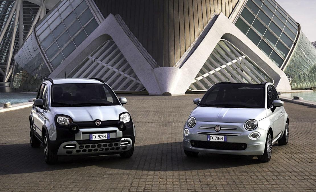 Fiat 500 hybride et Panda CityCross hybride : l'hybride bon marché !