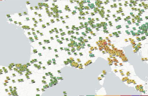 Confinement: grandes villes européennes, on respire mieux!
