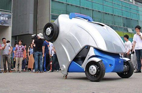 Armadillo-T, la voiture électrique repliable!