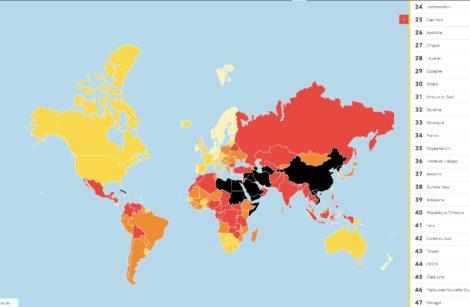 Liberté de la presse dans le Monde… Ça va craindre de plus en plus!