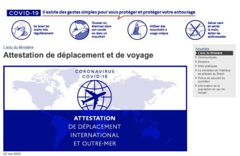 Des individus encore partiellement confinés, la France aussi!
