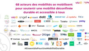 68 acteurs du secteur signent pour une mobilité durable et accessible à tous!