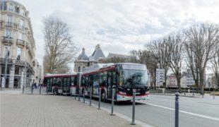 Métropole de Lille: 13 bus articulés supplémentaires au GNV