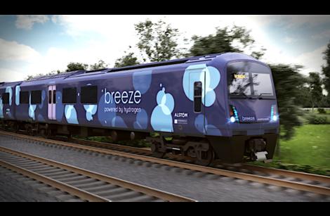 Grâce à Alstom, les Britanniques se mettent également au train à hydrogène…