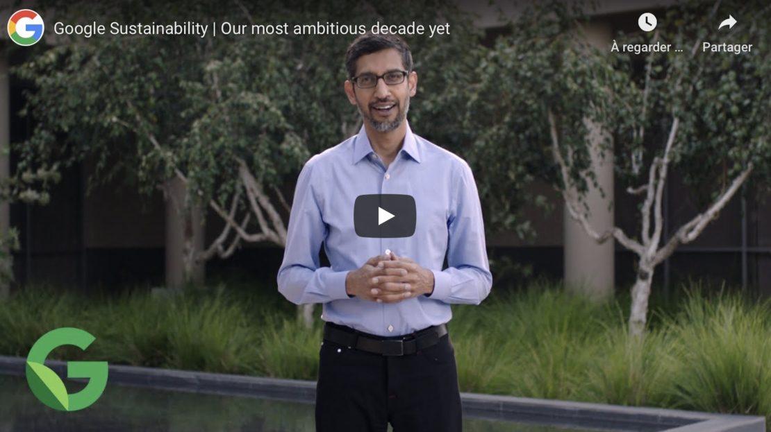 Google passerait au zéro carbone d'ici à 2030 !