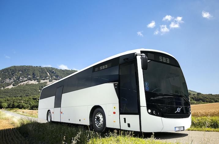 Volvo, des bus à l'huile de colza, 100 % français !