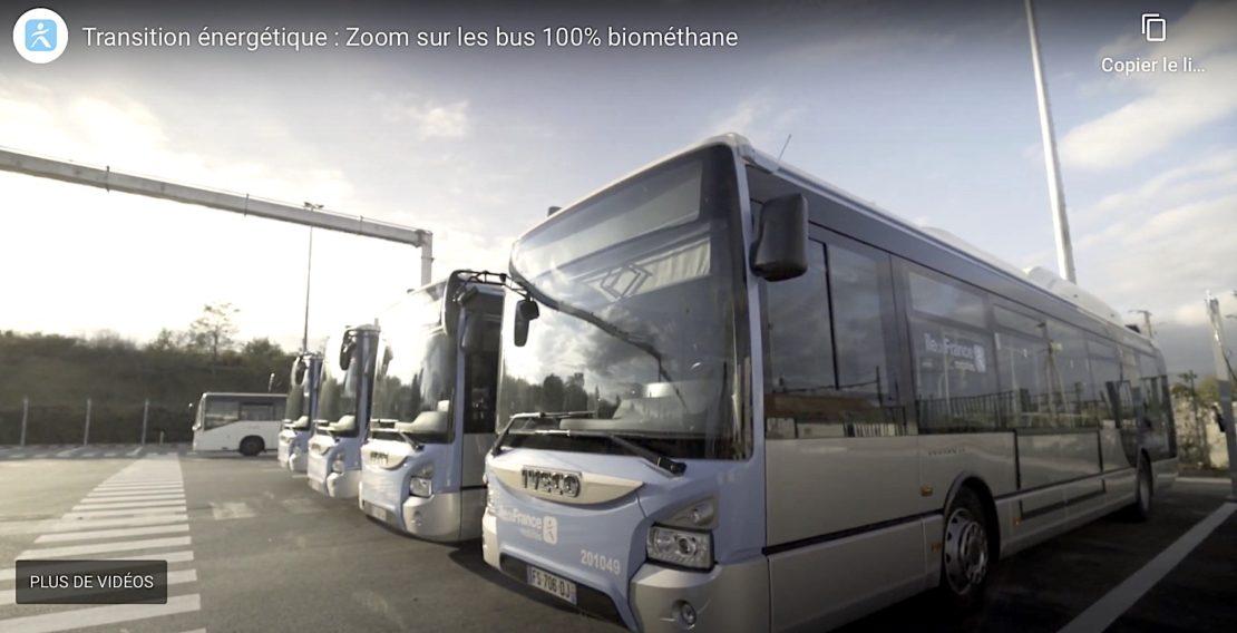 Hydrogène et Gaz pour alimenter les bus de Versailles Grand Parc !