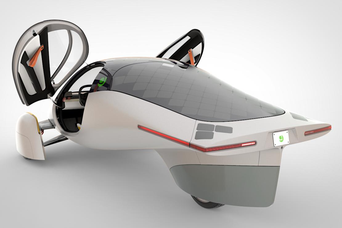 Aptera : voiture électrique solaire et 1 600 km d'autonomie !
