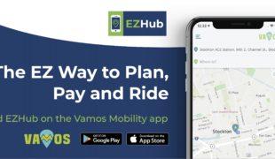 EZHub: billetique mobile et MaaS californien!