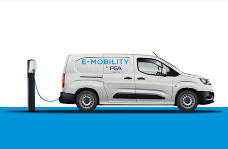 Fourgonnettes, combo et ludospaces PSA, tous en électriques en 2021!