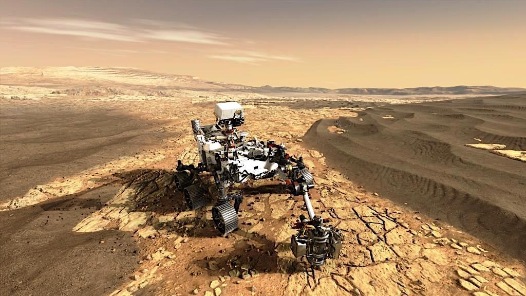 Airbus et NASA, la mobilité jusque sur Mars !