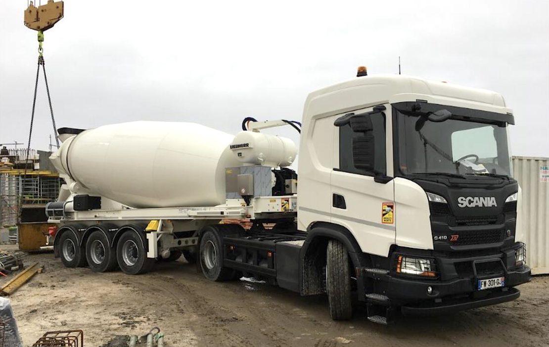 Scania : gaz et électricité, selon les étages…