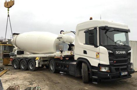 Scania: gaz et électricité, selon les étages…