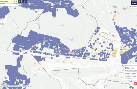 Internet, la carte des débits, y compris la fibre, par l'Arcep!