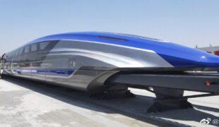 Chine, un train qui file à 600 km/h!