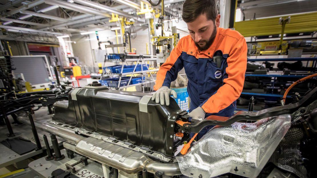 Volvo Car Group signe pour plusieurs milliards de dollars avec CATL et LG Chem pour la fourniture de batteries
