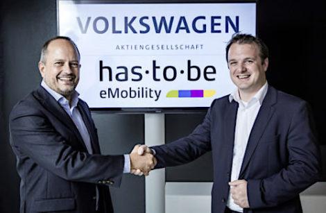 """Volkswagen """"prend part"""" à la gestion des infrastructures d'électromobilité"""