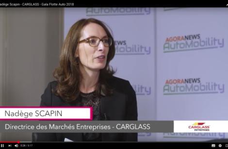 Nadège Scapin – Carglass – Gala Flotte Auto 2018
