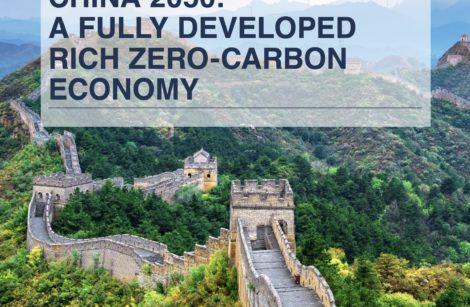 Chine 2050: une économie développée et zéro émission de carbone…