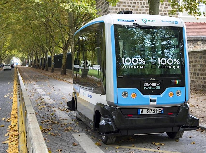 Des navettes autonomes pour la RATP en 2020.