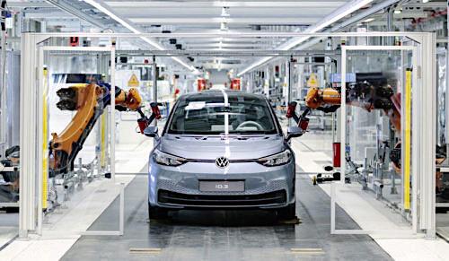 Quand Volkswagen à une nouvelle ID électrique !