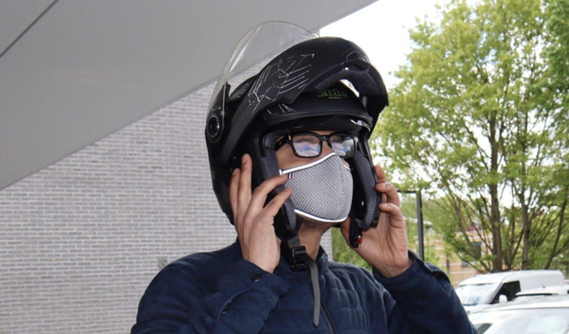 Pédalez masqués…