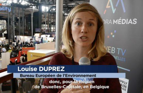 Louise Duprez: développer les zones basses émissions à Bruxelles…