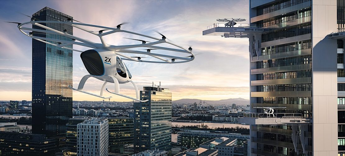 Volocopter, le taxi volant allemand !