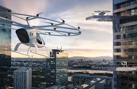 Volocopter, le taxi volant allemand!