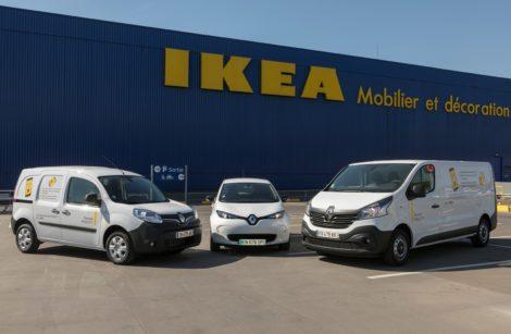 Renault Mobility signe avec Ikea!