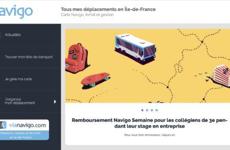 Remboursement du forfait Navigo pour les collégiens en stage en entreprise!