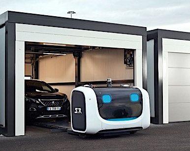 Stan, le robot-voiturier de l'aéroport de Lyon!