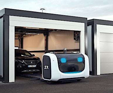 Stan, le robot-voiturier de l'aéroport de Lyon !