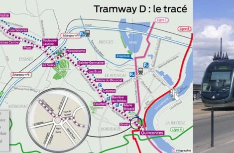 Bordeaux, ligne D en essai en août 2019
