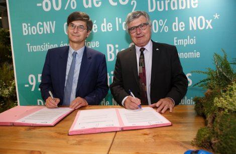 Partenariat CNPA/GRDF pour le développement du GNV