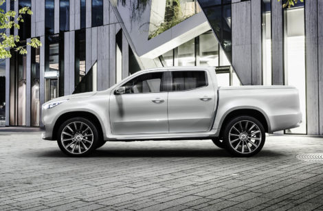 Mercedes classe X – Pick-up orientation premium