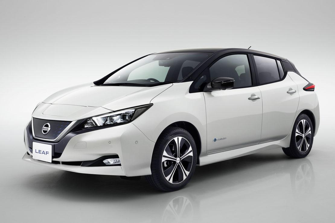 La Nissan Leaf va plus loin !