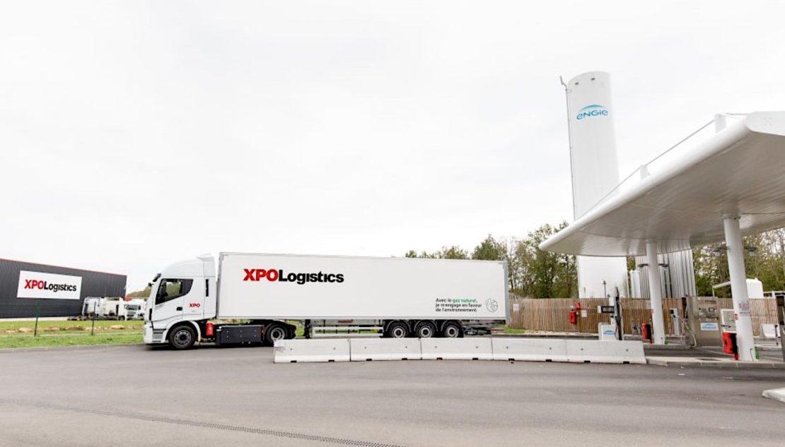 XPO Logistics, 100 tracteurs au gaz !