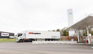 XPO Logistics, 100 tracteurs au gaz!